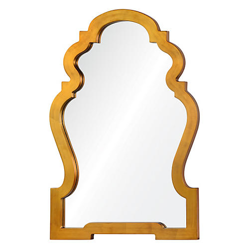 Anderson Wall Mirror, Gold