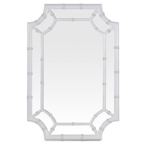 Wheaton Wall Mirror, White