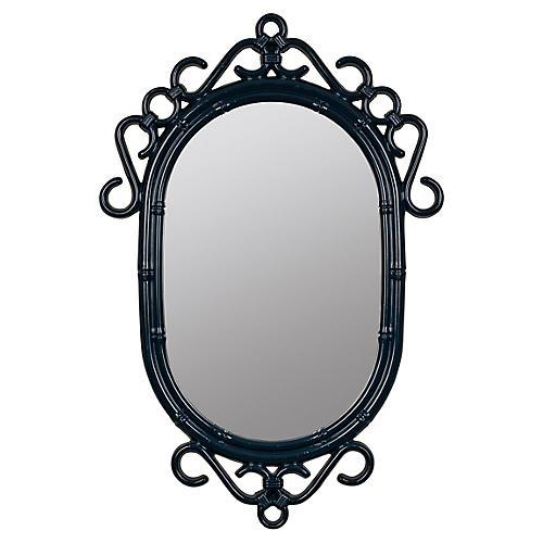 Southport Wall Mirror, Navy