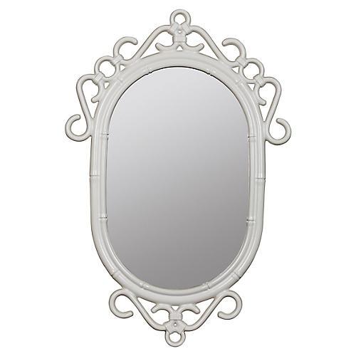 Regeant Wall Mirror, White