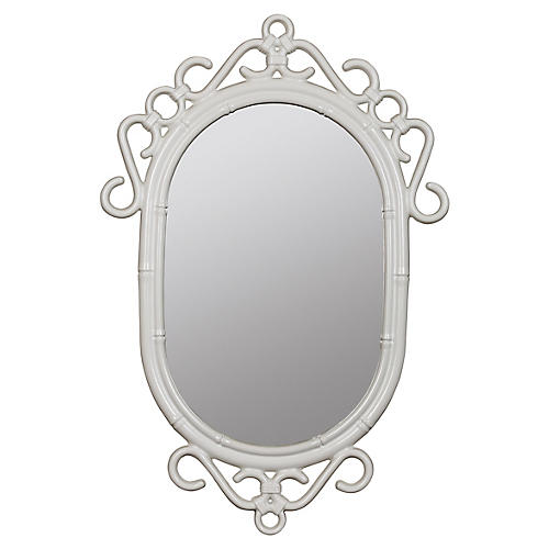 Lilo Wall Mirror, White
