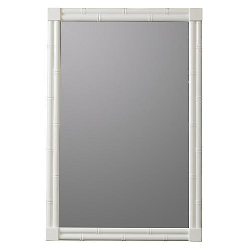 Selena Wall Mirror, White