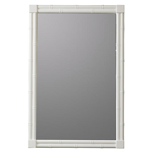 Selena Wall Mirror, White