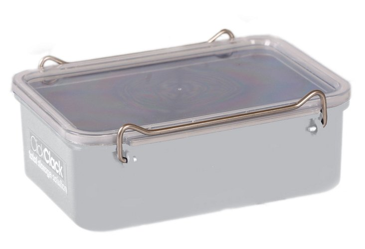 0.6 Qt. Airtight Box, White