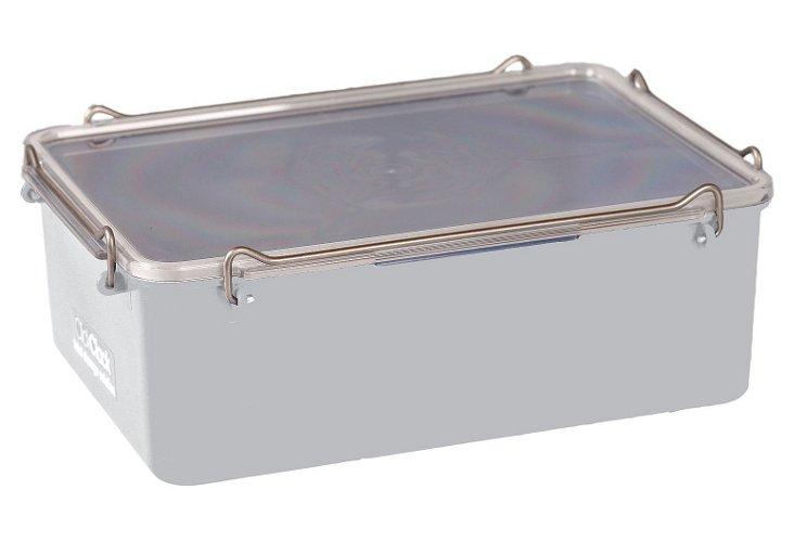 2.8 Qt. Airtight Box, White