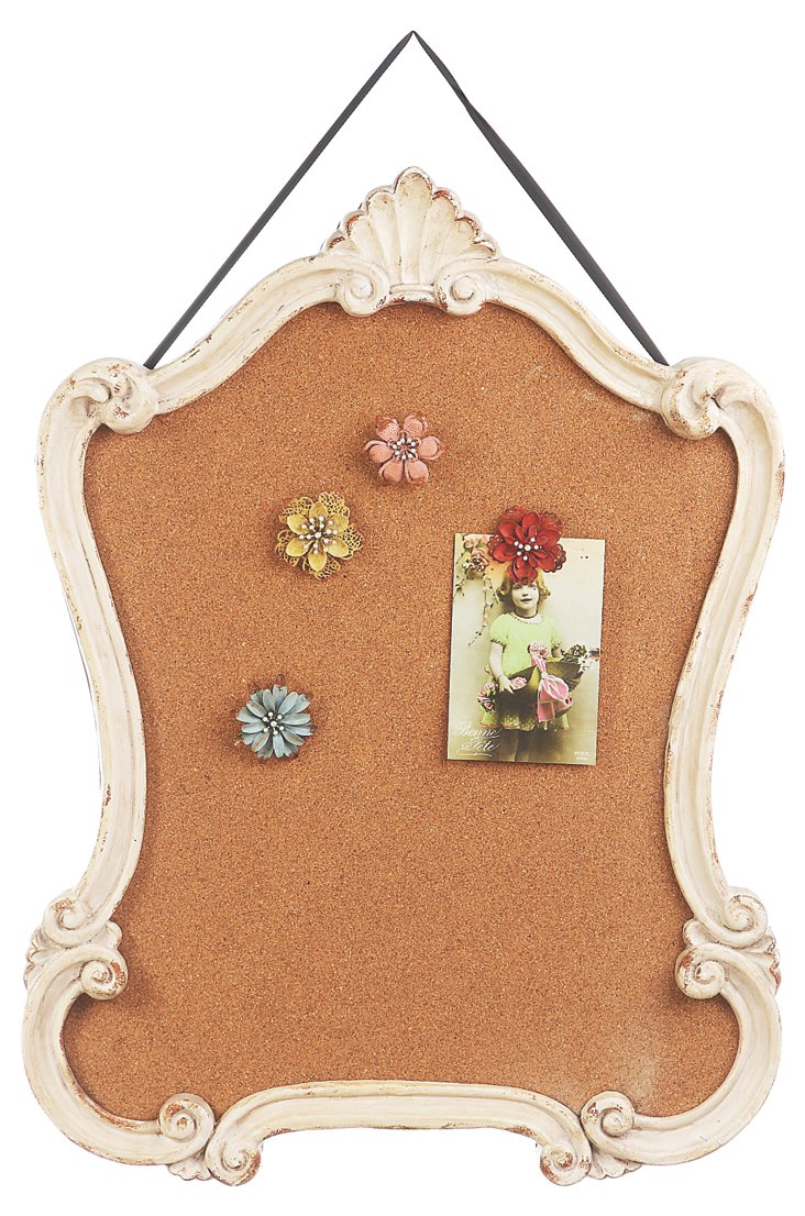 Scroll Cork Board
