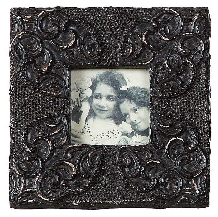 4x4 Embellished Black Frame