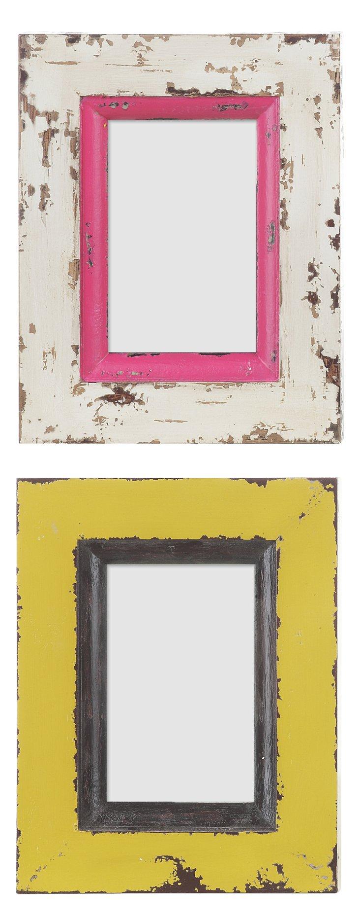 4x6 Photo Frames, Asst. of 2
