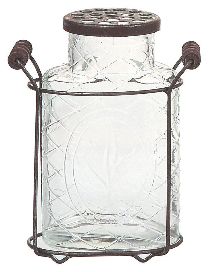Glass Cottage Vase, Medium