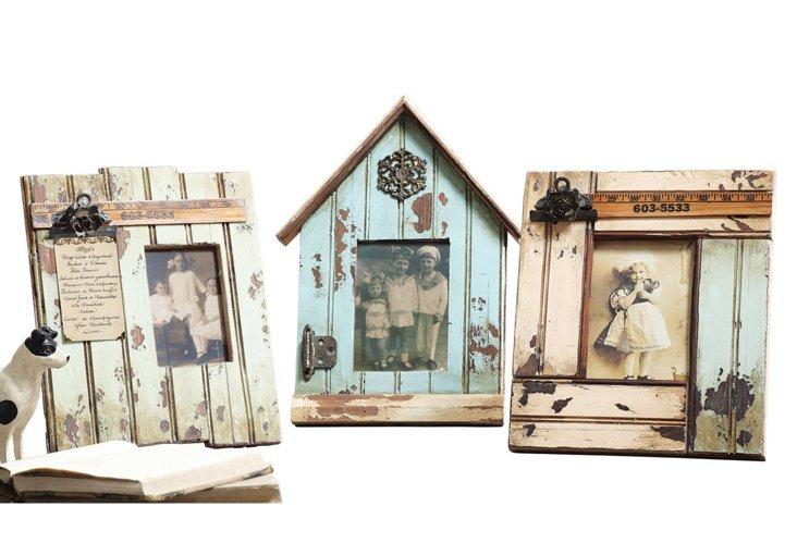 Asst. of 3 Weathered Wood Frames