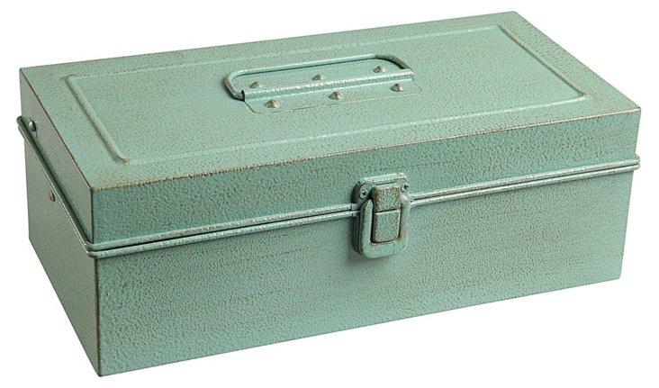 Metal Tackle Box