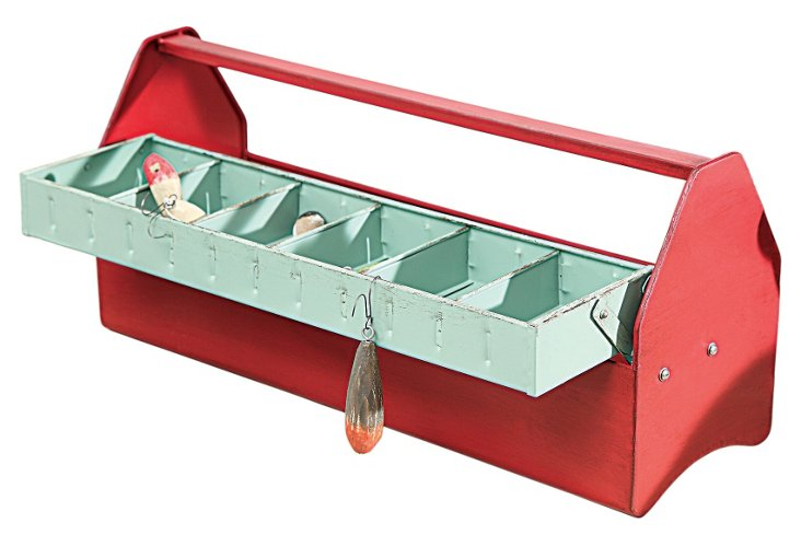 Metal Tool Case w/ Tray