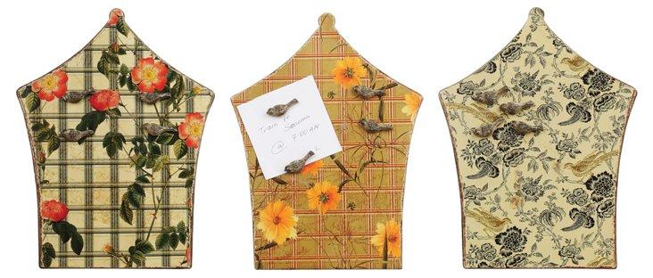 Blossom Magnetic Memo Board Set