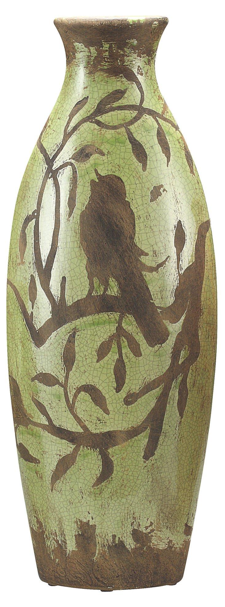 """20"""" Songbird Vase"""