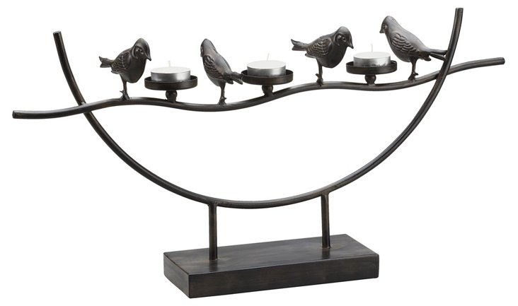 "21"" Birds & Branches Candleholder"