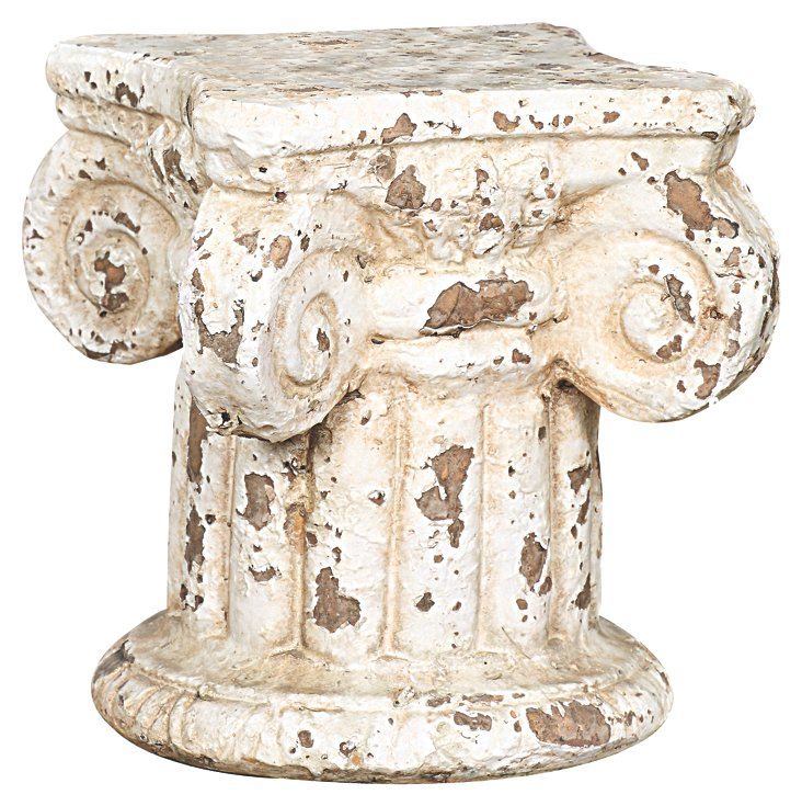 "7"" Column Pedestal, Cream"