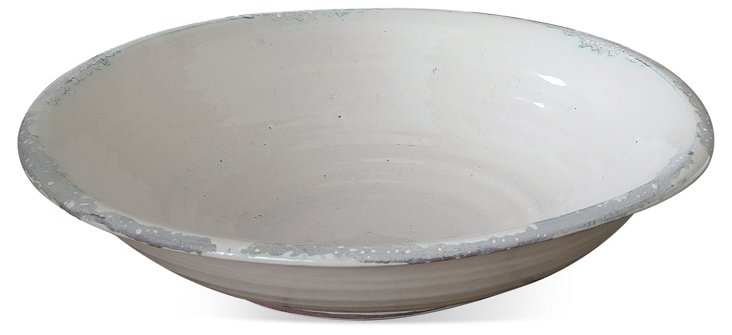 Distressed Oval Dish