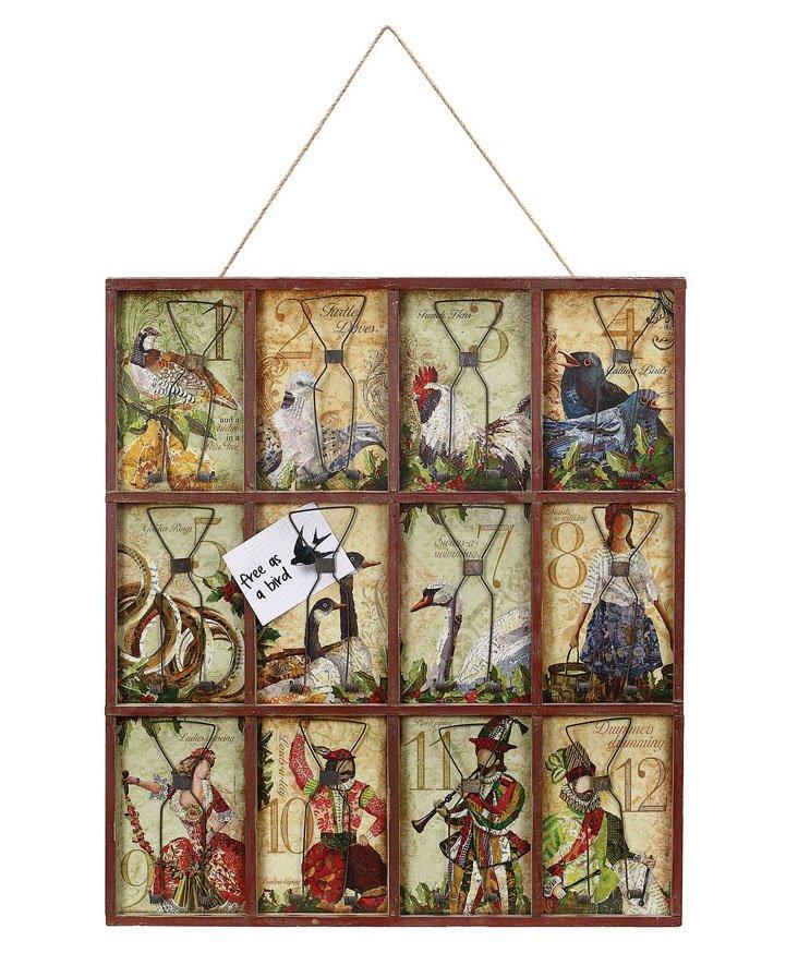 12 Days of Christmas Card & Photo Holder
