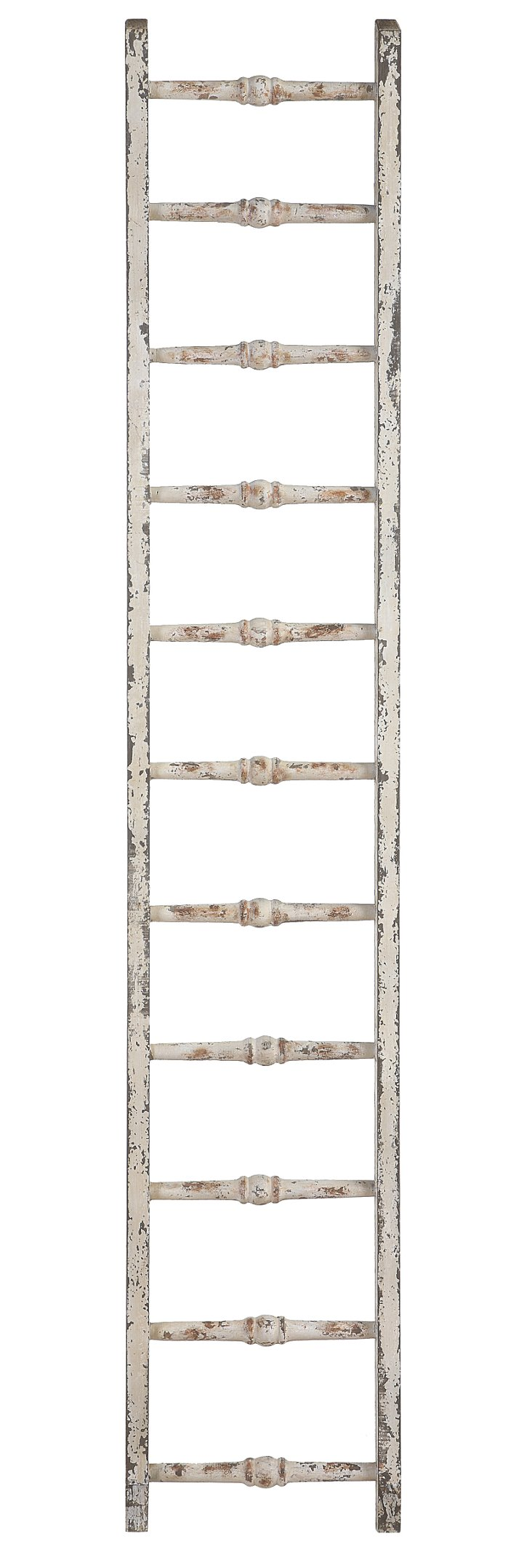 Rustic Ladder, White