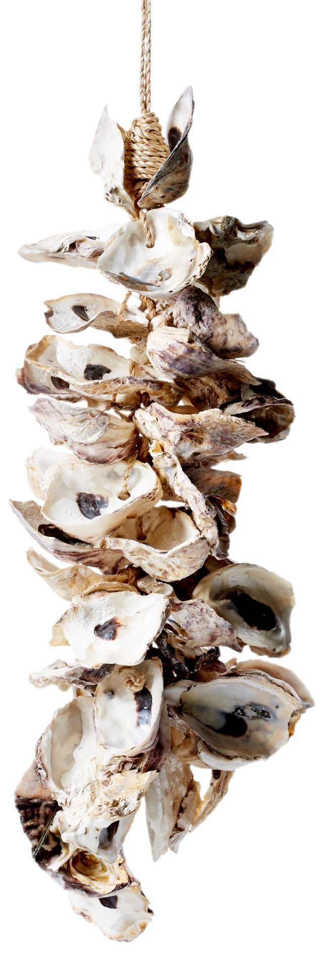 """14"""" Oyster Shell Cluster, White"""