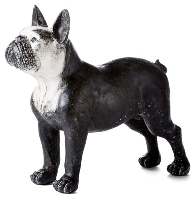 "14"" Boston Terrier, Black/White"