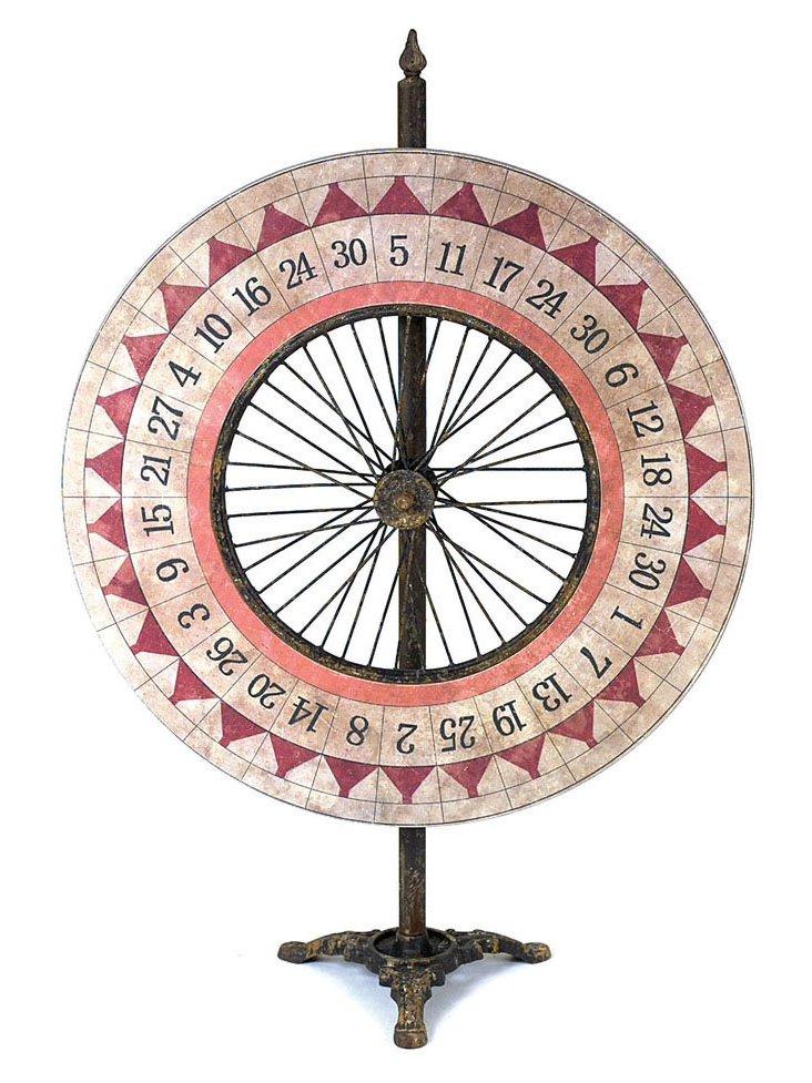 Large Game Wheel, Red