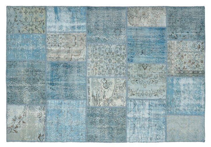 9' x 12' Fulton Rug, Blue
