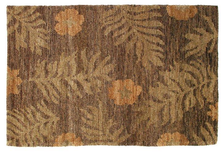 Ferns Hemp Rug, Moss/Sage