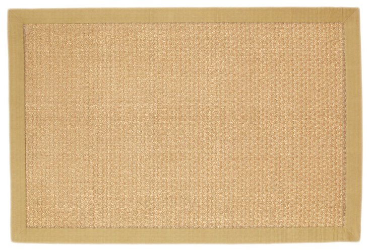 9'x12' Savana Seagrass Rug, Light Tan