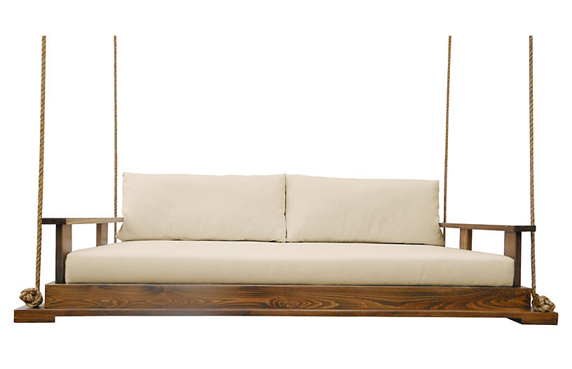 Savannah Bed Swing, Brown/Sand