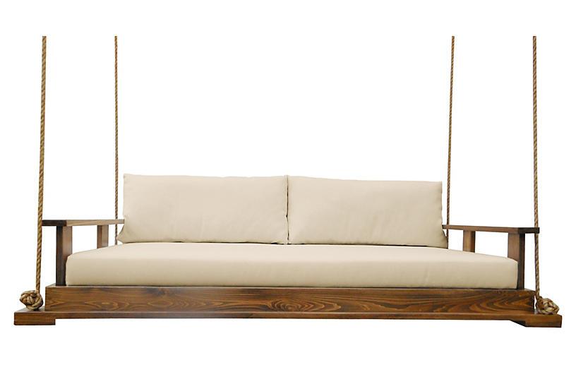 Savannah Bed Swing, Brown/Sand
