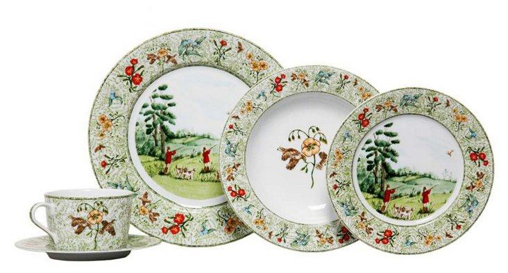 S/4 Hunters Return Dinner Plates