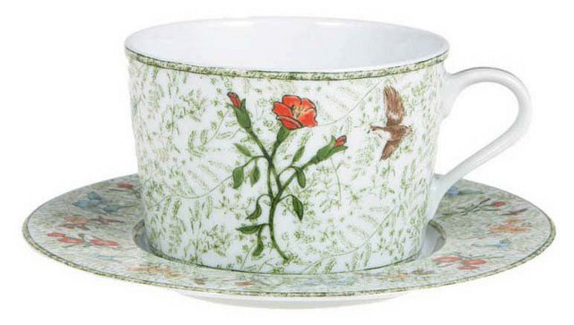S/4 Hunters Return Cup & Saucers