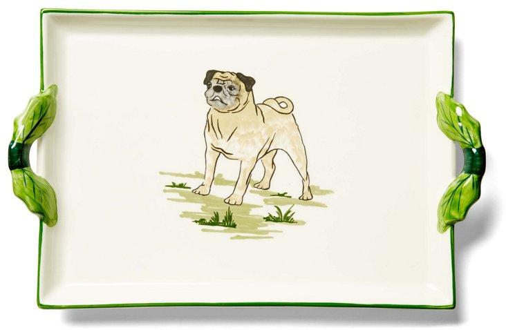 Pug Handle Tray