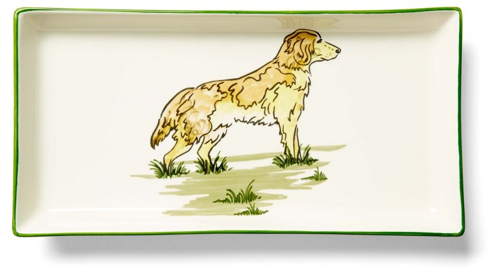 Golden Retriever Tart Tray