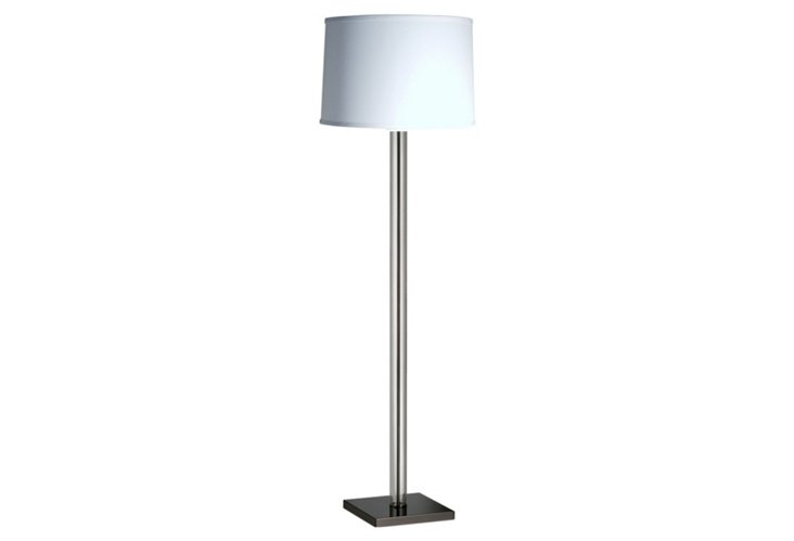 Vessels Floor Lamp, Clear Lucite