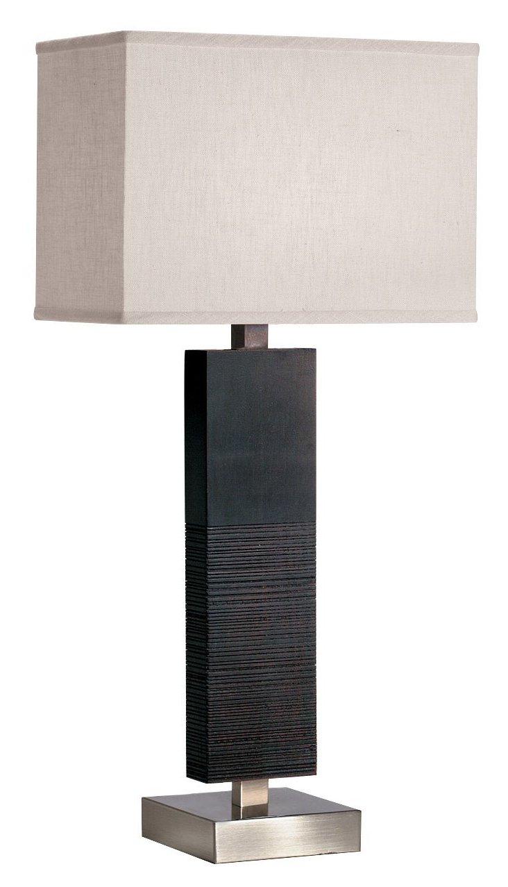 Large Ridgewood Table Lamp, Black