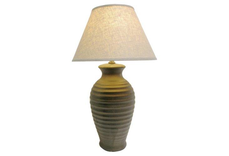 Belize Table Lamp, Bronze