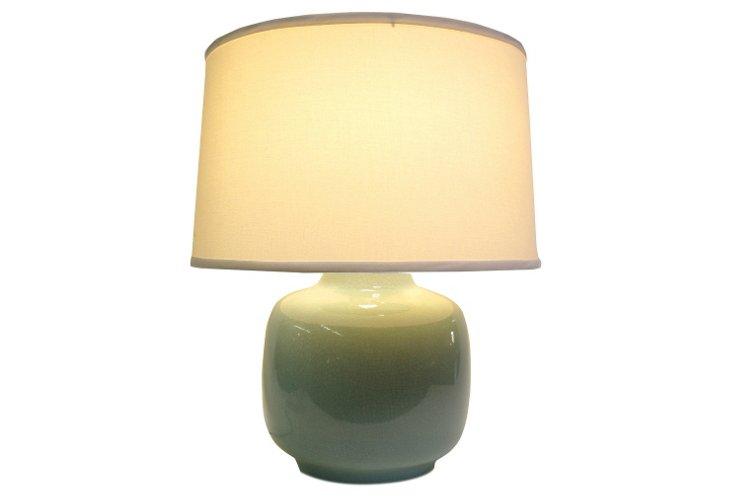 Robin's Egg Lamp, Blue