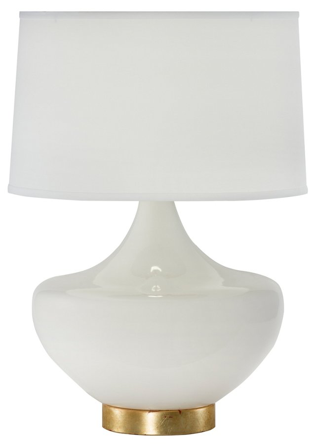 Arden Table Lamp, White