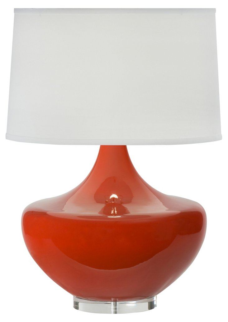 Arden Table Lamp, Persimmon