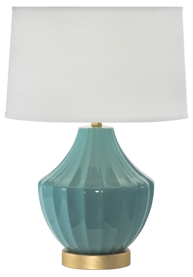 Reiley Table Lamp, Jade