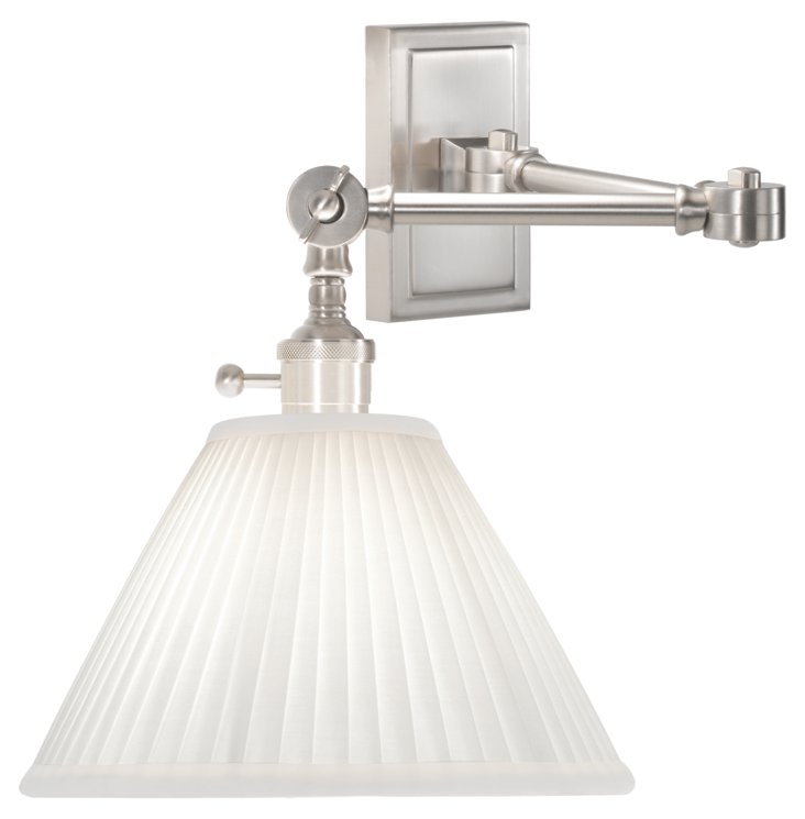 Ant Bee Downbridge Sconce, Nickel