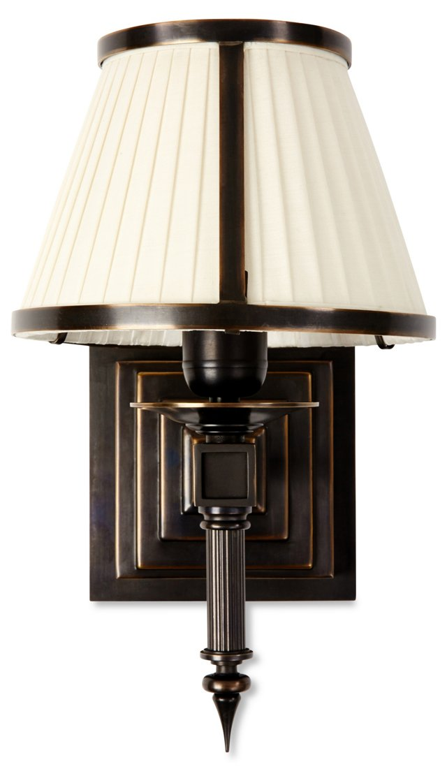 Chase 1-Light Wall Sconce, Bronze