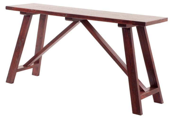 Carson Work Table, Maple