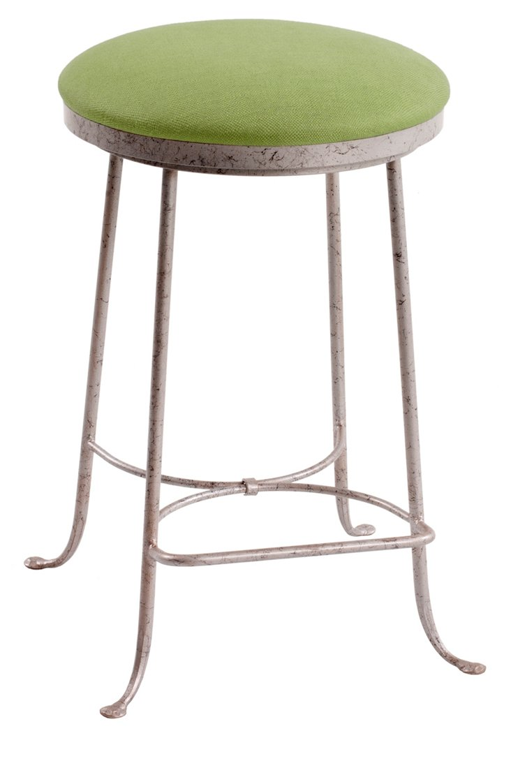 Shaker Counter Stool, Green