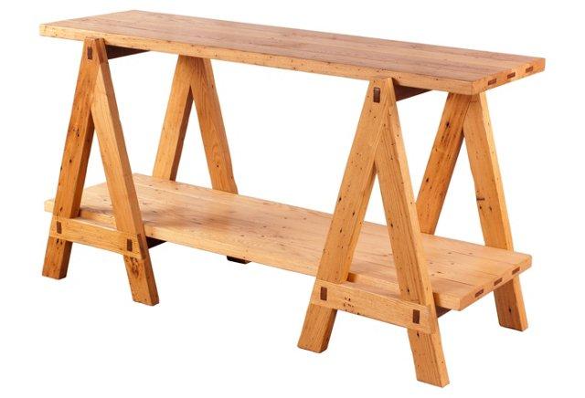 Ellis Trestle Table, Chestnut