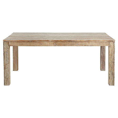 Bellview Dining Table, Natural