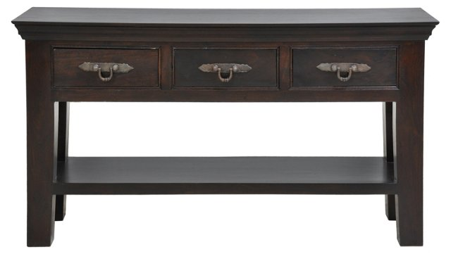 Grace 3-Drawer Console
