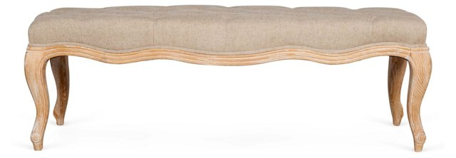 Marianna Tufted Bench